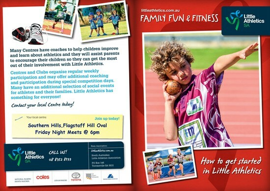 Souther Hills Little Athletics Informtion